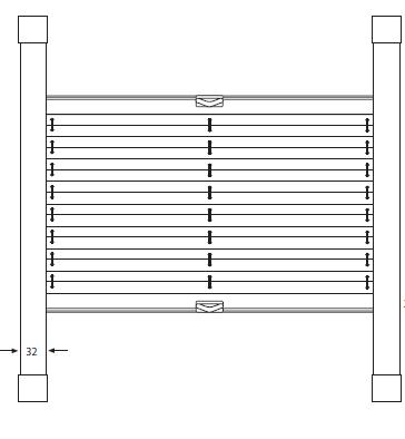 Store plissé avec rail pour châssis Vélux