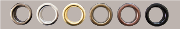 confection tenture anneaux rivetés
